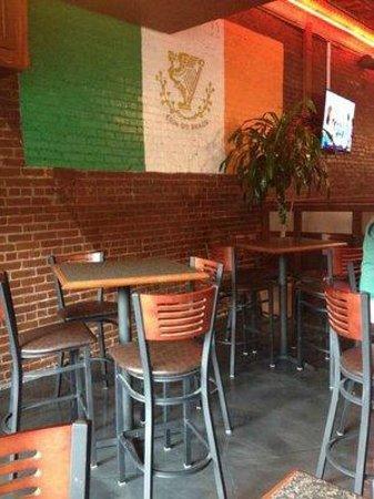 Copper Penny Pub: High top tables