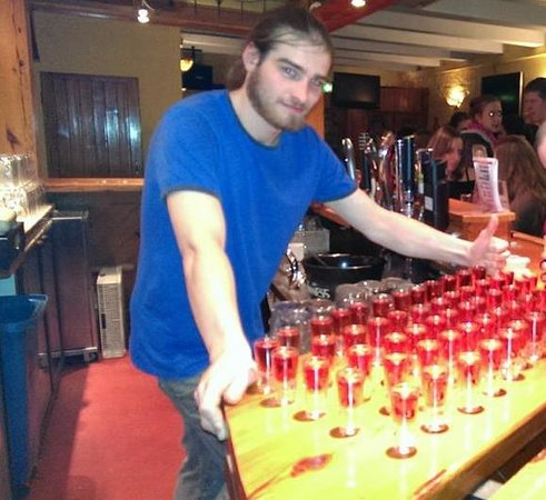 Cork City Pub Crawl: Shots in the Old Oak
