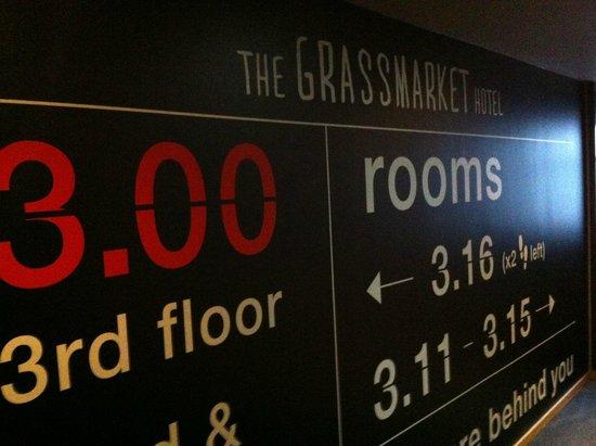 Grassmarket Hotel: 3rd floor