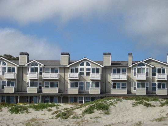 Beach House at Half Moon Bay: View of the Beach House from the beach