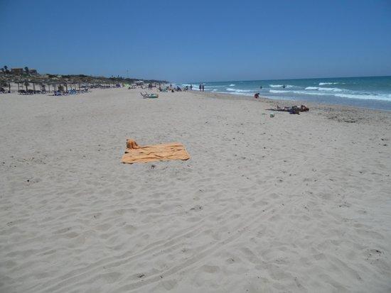 Playa de la Barrosa: Spiaggia bianca