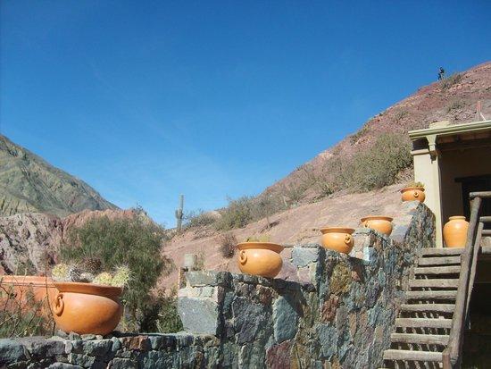 Terrazas de La Posta: Vista a los cerros