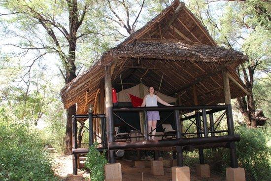 Samburu Intrepids Luxury Tented Camp: our tent
