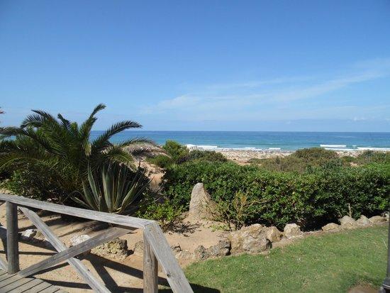 Playa de la Barrosa: la Barrosa dall'alto