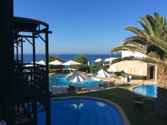 Aldemar Royal Mare Thalasso Resort : View from back of room