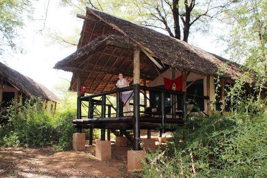 """Samburu Intrepids Luxury Tented Camp: The """"Tent"""""""