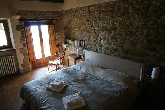 Galealpe Agriturismo: Schlafzimmer Lavanda