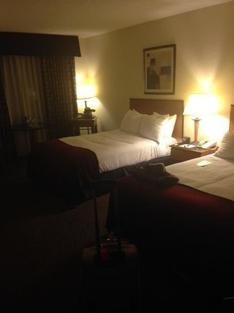 Richmond Airport Hotel: Bedroom