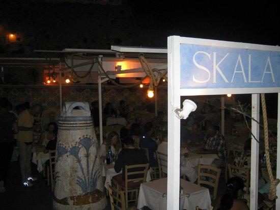 Skala Restaurant: Entrance