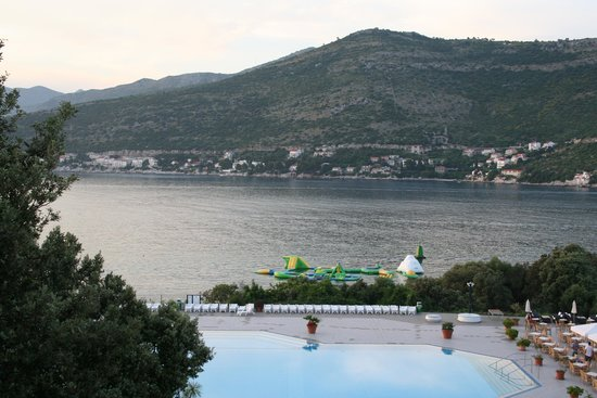 Valamar Club Dubrovnik : view from our balcony