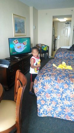 The Patricia Grand, Oceana Resorts: Our 4 year old exploring the room