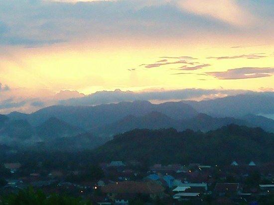 Luang Prabang View Hotel : Sunset