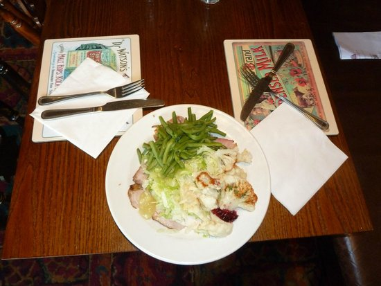 Toby Carvery: Heaped plate of tasty roasts