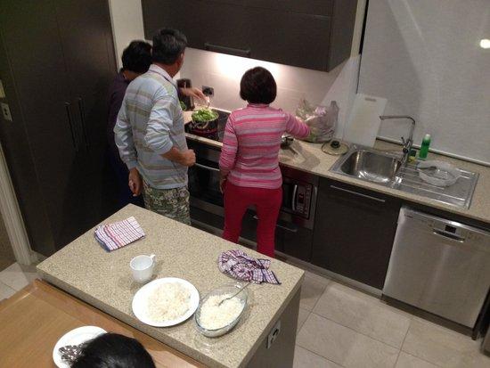 The Sebel Busselton: Preparing for dinner