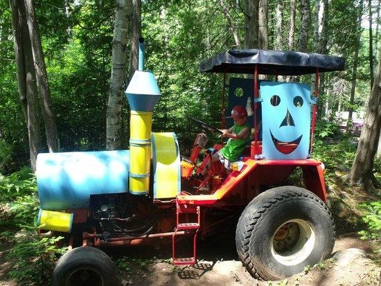 Au Pays Des Merveilles : Drive a tractor