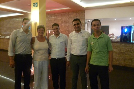 smartline COLOUR BEACH: The top restaurant staff