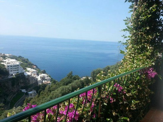 Hotel Pellegrino: A view from the balcony