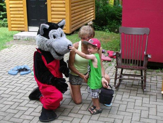 Au Pays Des Merveilles : Bad wolf in Red Little Hood