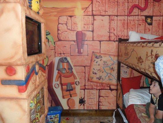 Legoland Windsor Resort Hotel: Adventure bunk room
