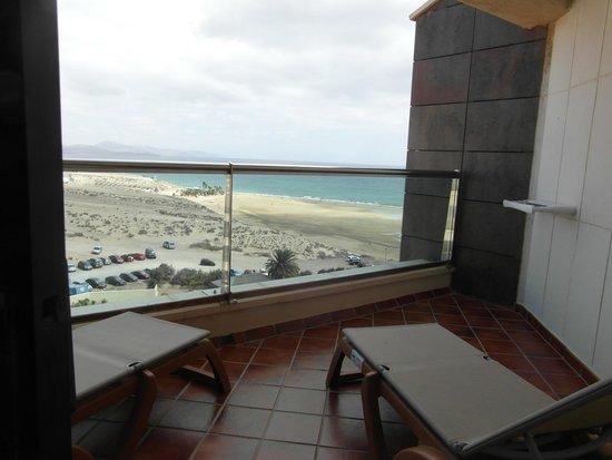 Melia Gorriones Fuerteventura : balkon, widok z pokoju