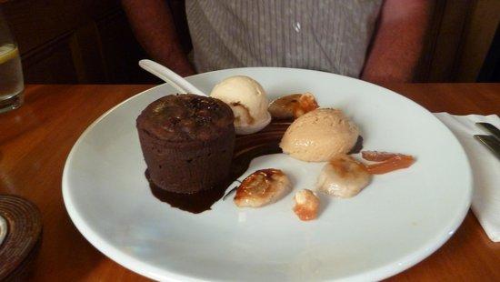 Kota Restaurant : Chocolate Fondant, Amazing!!
