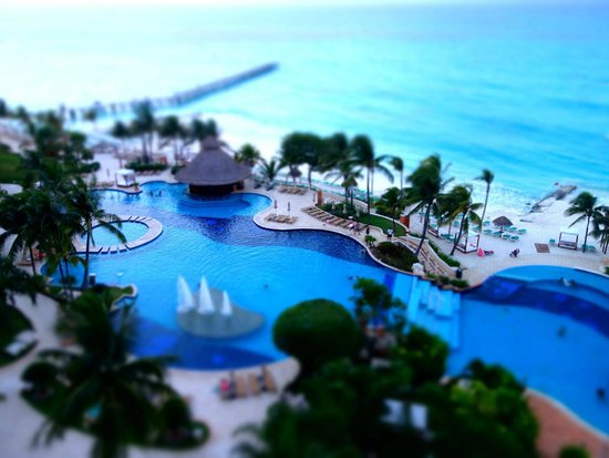 Grand Fiesta Americana Coral Beach Cancun : View from the room