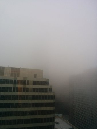 Courtyard Chicago Downtown/Magnificent Mile: foggy views!