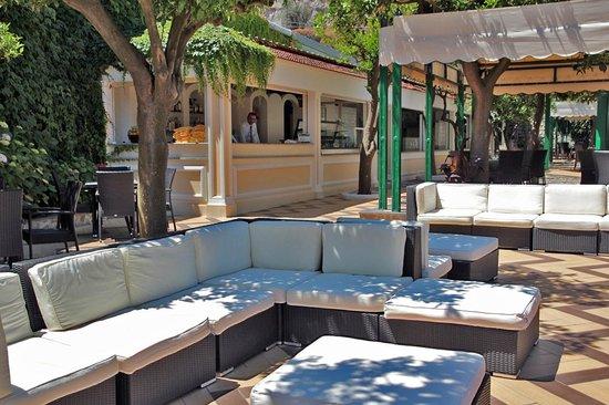 Grand Hotel Parco Del Sole: Bar Piscina