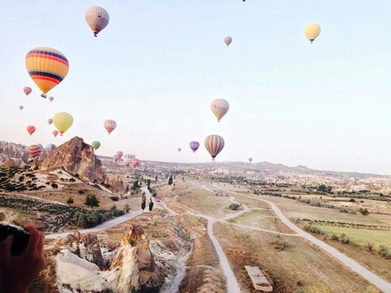 Cappadocia Cave Resort & Spa: Cappadocia baloons