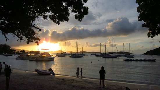 The Beach Bar: Sunset 6/18/2014