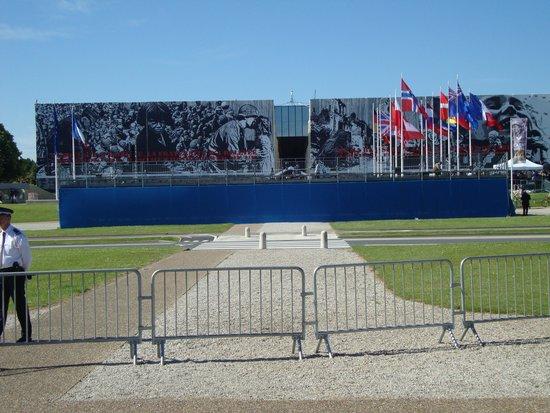Mémorial de Caen : memorail de Caen