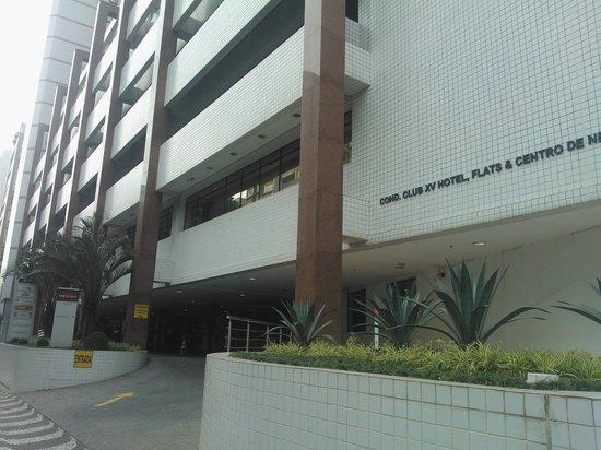 Mercure Santos : Frente do hotel