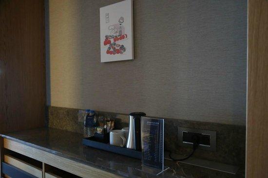 Radisson Blu Hotel & Spa - Istanbul Tuzla : tea/coffee corner
