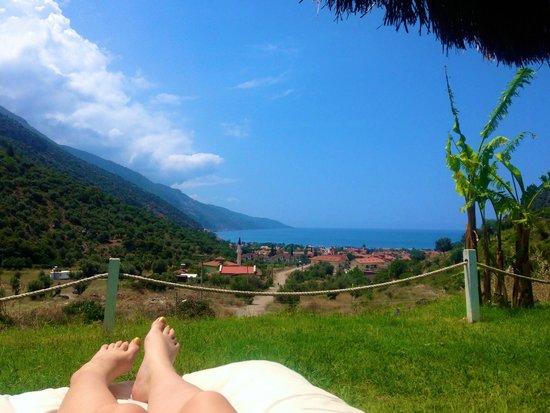 Manas Park Oludeniz Hotel: View from Garden Area