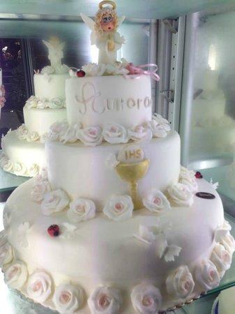 Cake Design per la prima Comunione - Torta Juventus ...