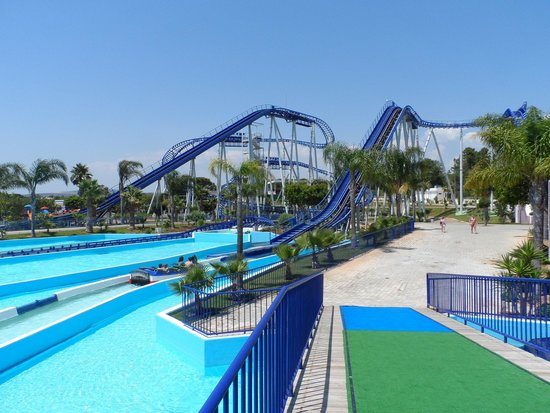 Aquashow Park: the roller coaster