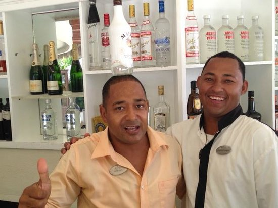 The Reserve at Paradisus Palma Real: Victor & Francisco!!! Maravillosas personas !! Saludos