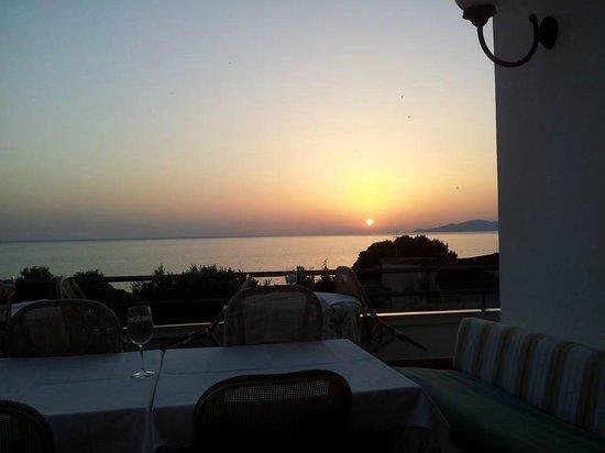 Hotel Baia: cena in terrazza