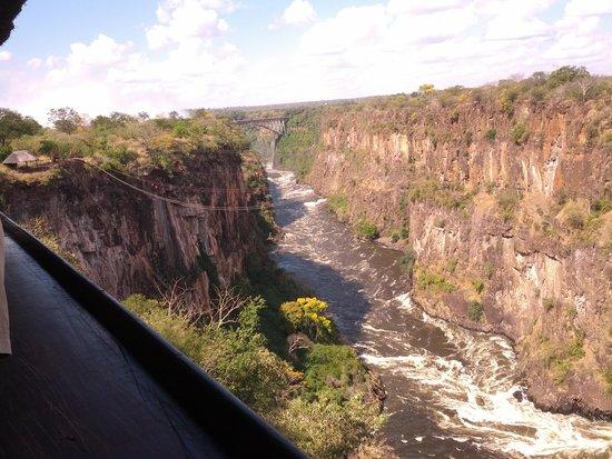 Mosi-oa-Tunya / Victoria Falls National Park : The Zip Line