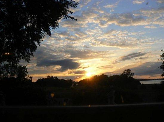 Ross House Equestrian Holidays: Sunset on Lough Sheelin