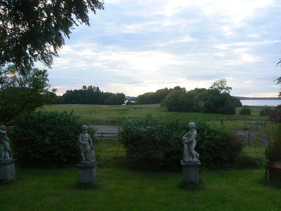 Ross House Equestrian Holidays: View of the gardens