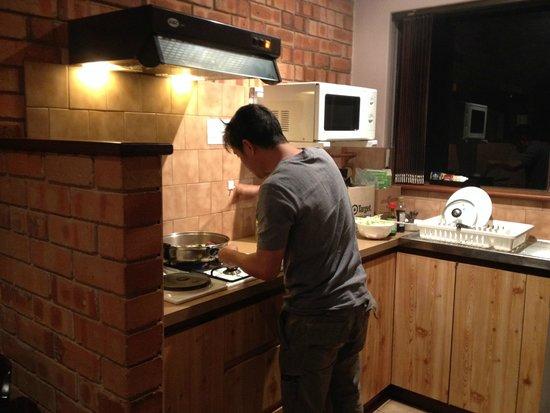 Forest Lodge Resort : Kitchen