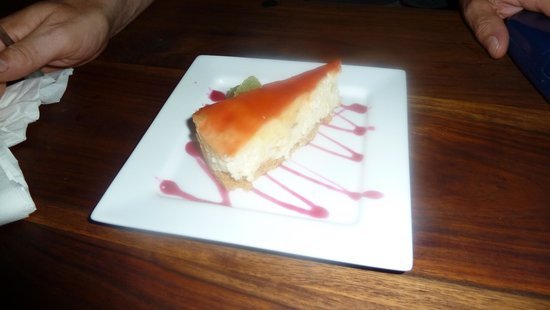 The Chancel: Yummy cheesecake