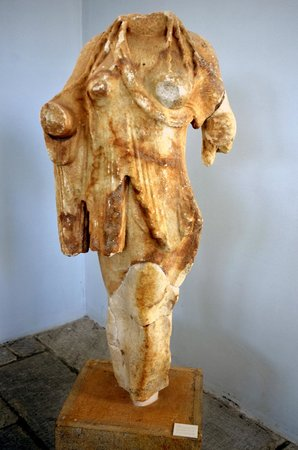 Archaeological Site of Delos: Statue (in the Museum)