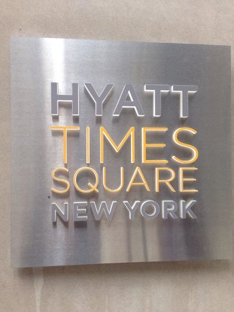 Hyatt Centric Times Square New York : Welcome!