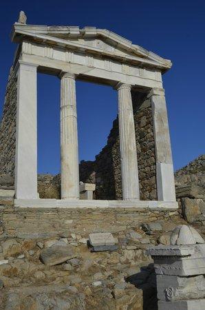 Archaeological Site of Delos: Apollo Temple