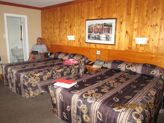 San-Man Motel: Very comfortable and clean room