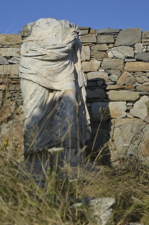 Archaeological Site of Delos: Statue of Apollo (in the Temple)