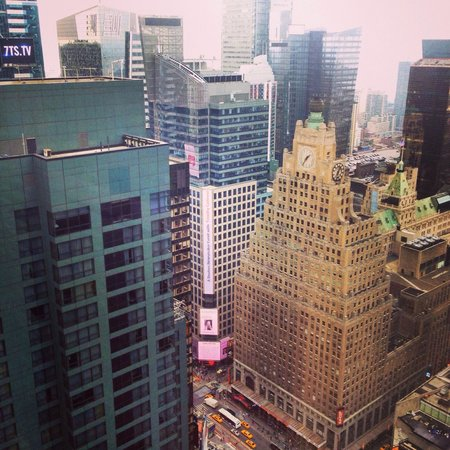 Hyatt Centric Times Square New York: View from my room on the 42nd floor.