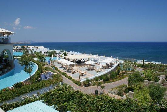 Atrium Prestige Thalasso Spa Resort & Villas : Ciel bleu et mer turquoise